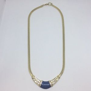 Jewelry - Blue Pendant Chain Necklace